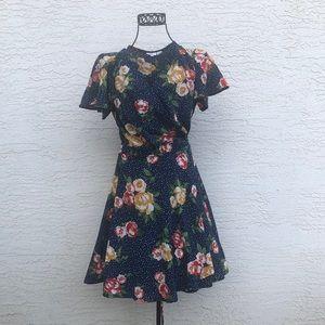 Ripe Floral Wrap Dress